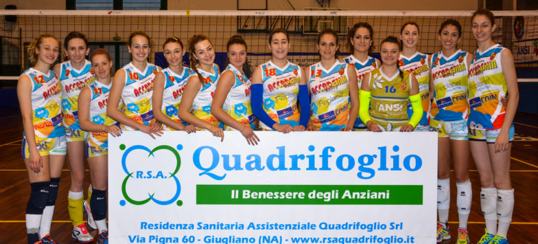 RSA Quadrifoglio e Accademia Volley Benevento